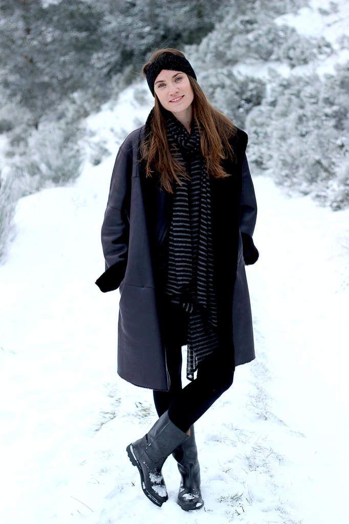 Marchons dans la neige avec Clémence