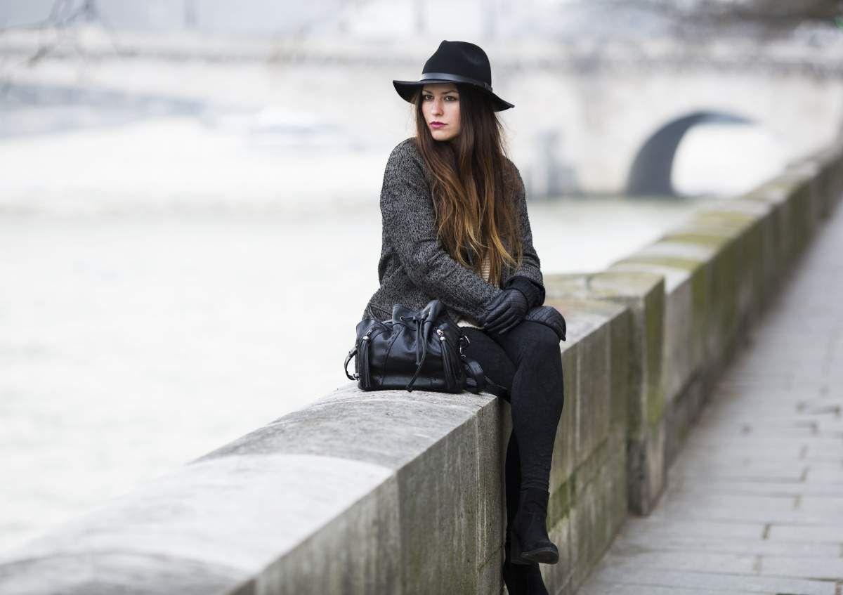 Un manteau oversize pour plus de style