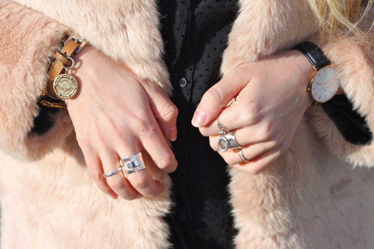 Manteau chaud et élégant de Zara
