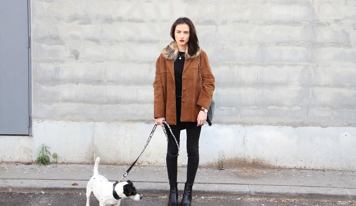 Look du jour : La veste en daim