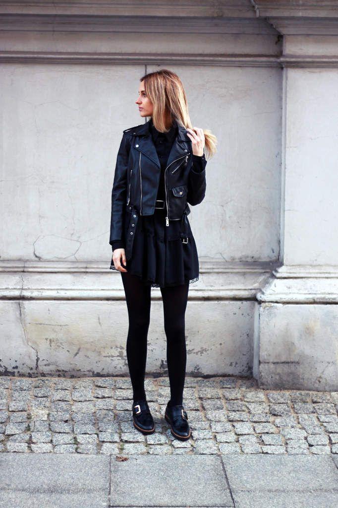 Look du jour : Le total look noir