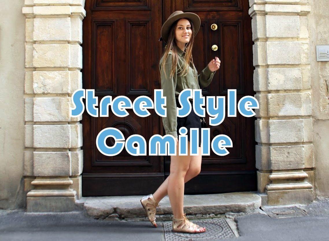 Portrait Street Style : Camille (Nîmes)