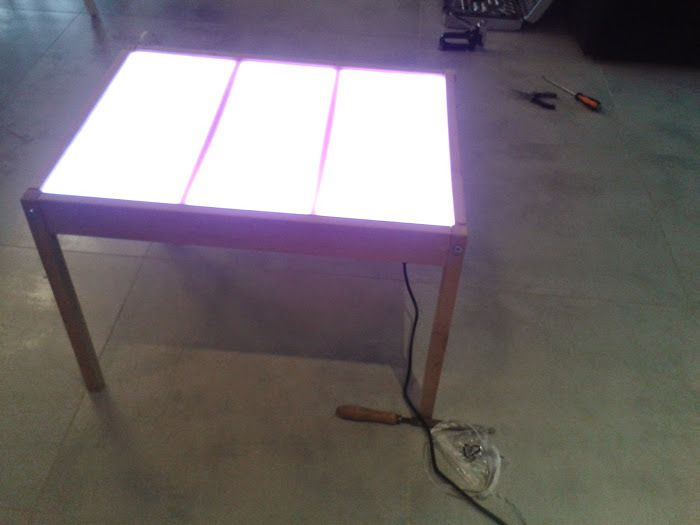 Idee Deco Table Lumineuse Or Table Lumineuse Ikea Idee Decos