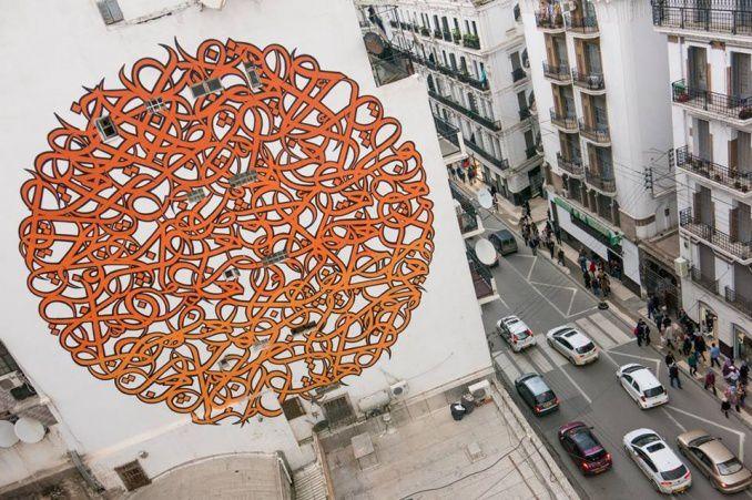 (Vidéo/Photos) Découverte du graffeur El Seed