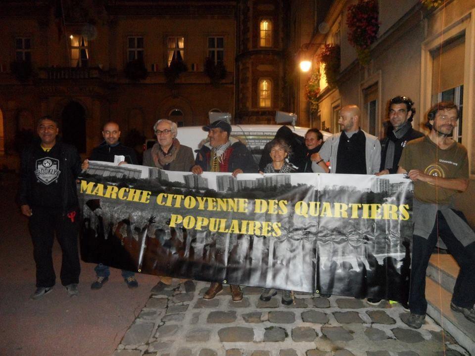 """24H/24H/Arbi, """"la Marche de la citoyenneté"""" des quartiers Populaires"""