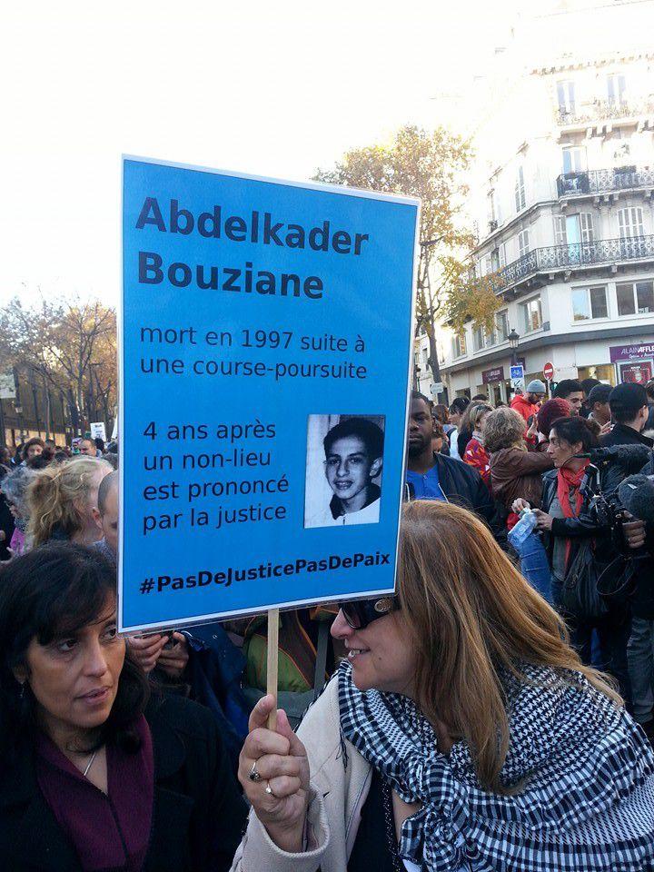 La Marche de la dignité à Paris en images