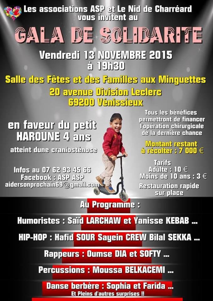 (Vidéo) Micro-trottoir pour le Gala de solidarité avec le petit Haroune