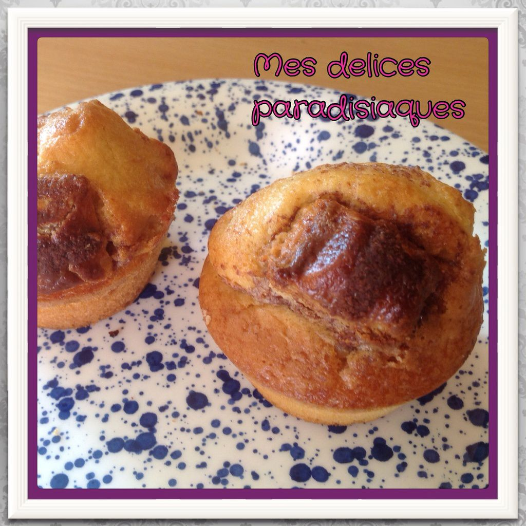 Muffins aux kinders buenos white