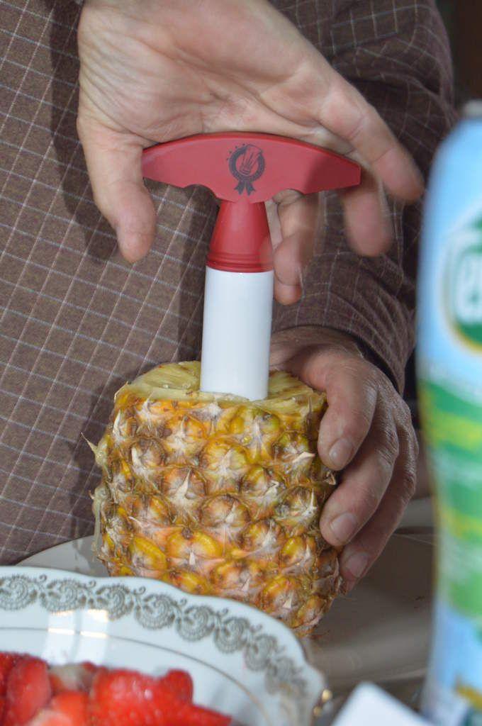 Comment découper un ananas....