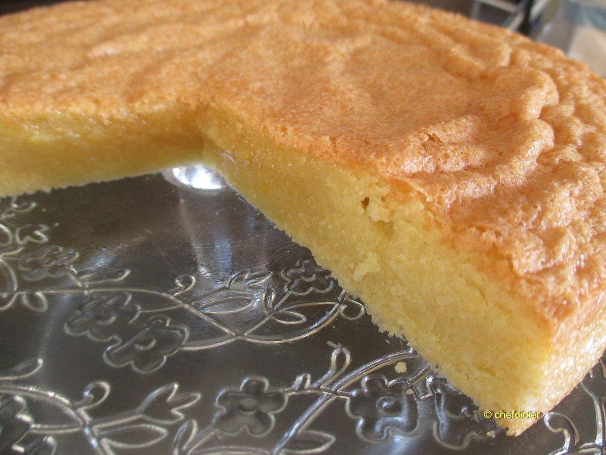 Gâteau provençal aux amandes