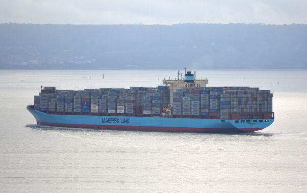 Les Mathilde et Maren Maersk, sister-ships du Gudrun Maersk