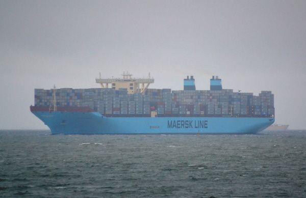 Les Madisson Maersk et Maersk McKinney Moller, sister-ships du Magleby Maersk
