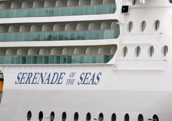 Escale du Serenade of the Seas aujourd'hui