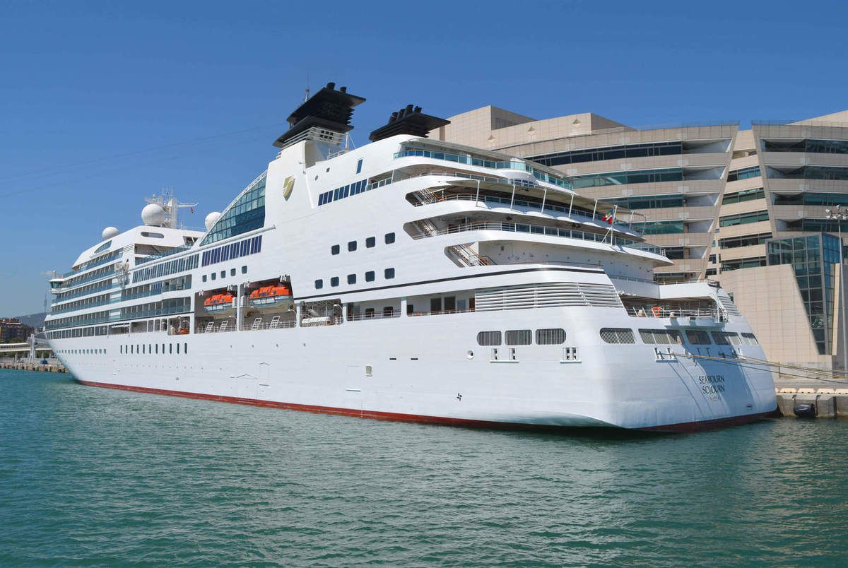 Paquebots : le Seabourn Sojourn