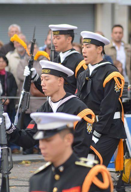 La marine coréenne en escale à Cherbourg