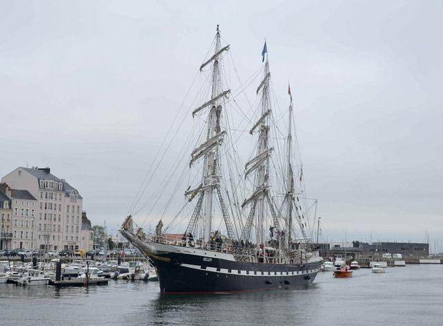 Le Belem attendu à Cherbourg samedi