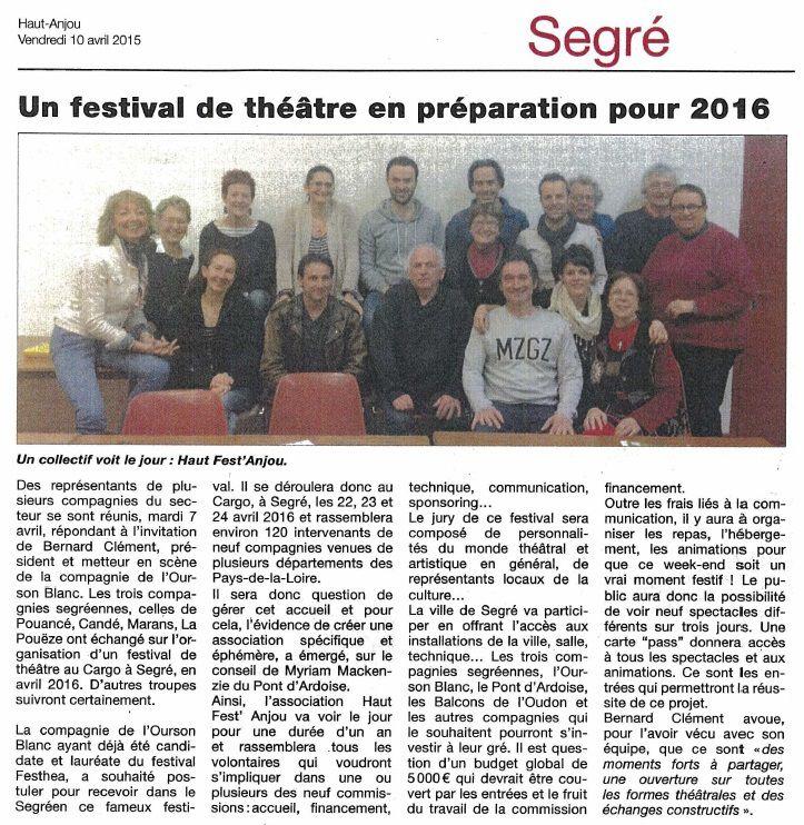 Le Haut-Anjou - 10/04/15
