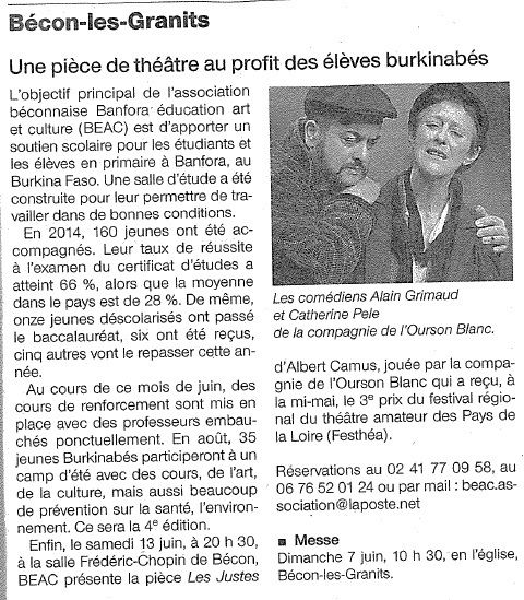 Ouest-France - 05/06/15