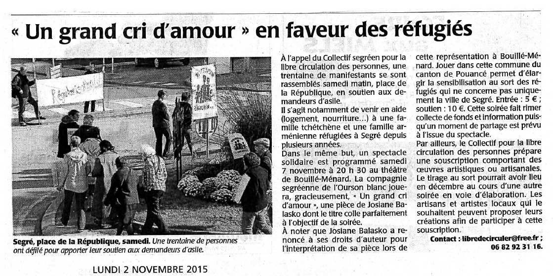 Ouest-France - 02/11/15