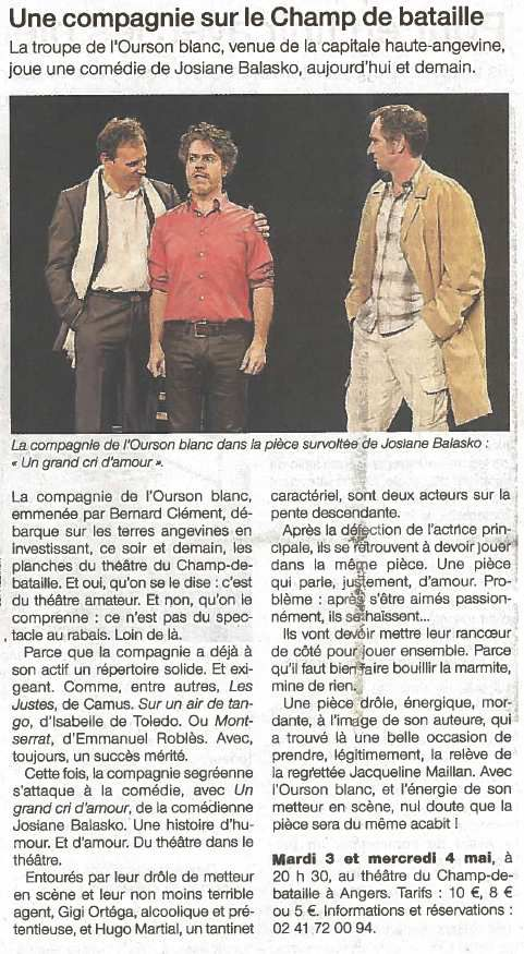 Ouest-France - 03/05/16