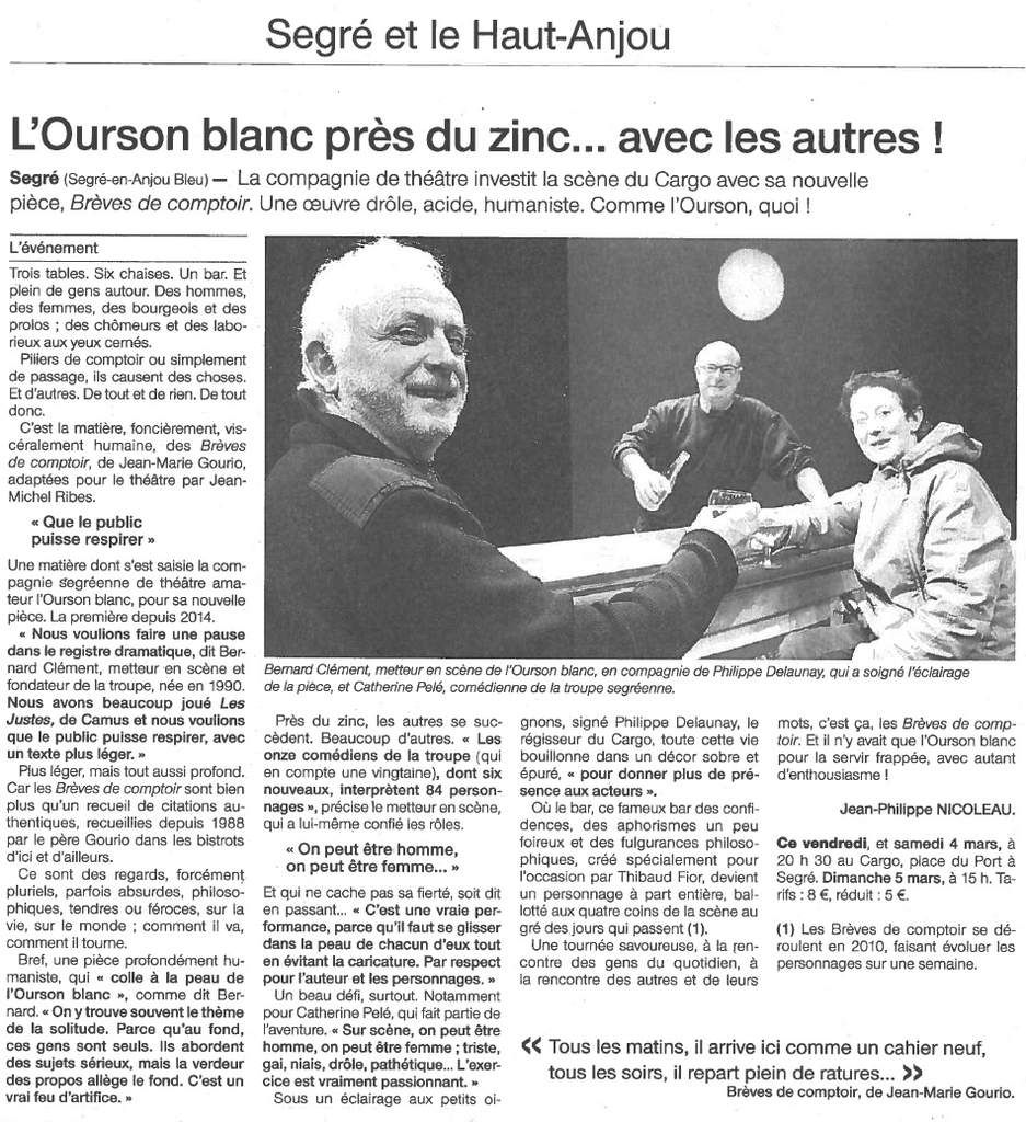 Ouest-France - 03/03/17