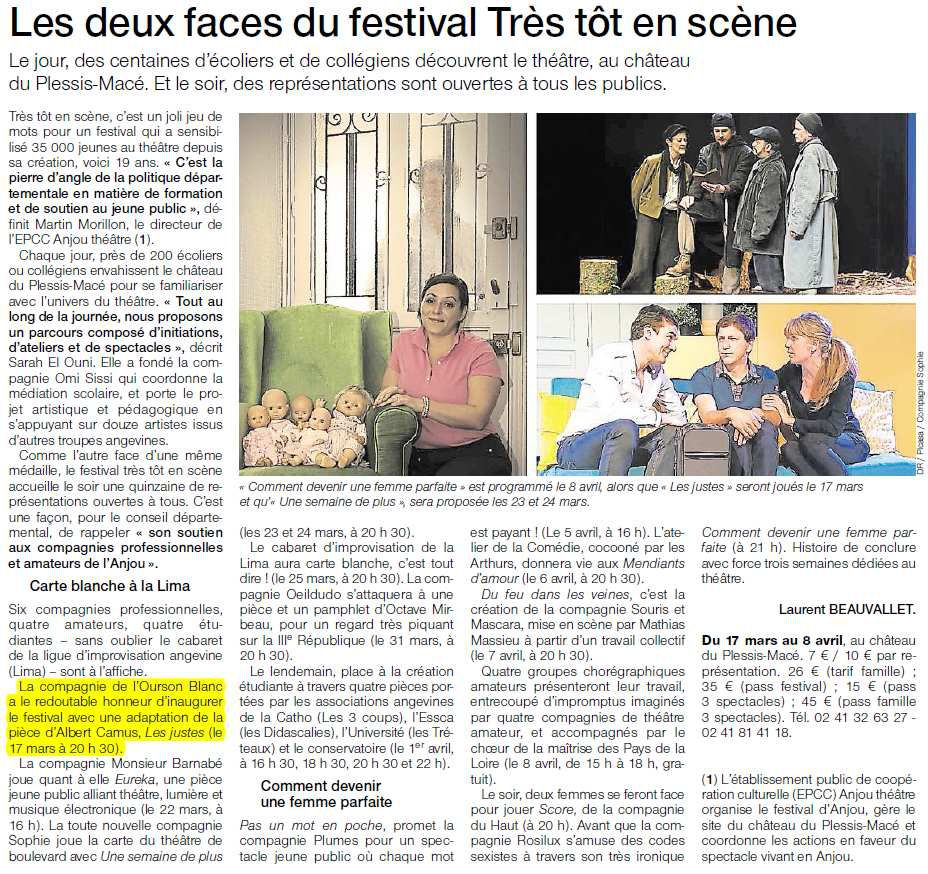 Ouest-France - 15/03/2017
