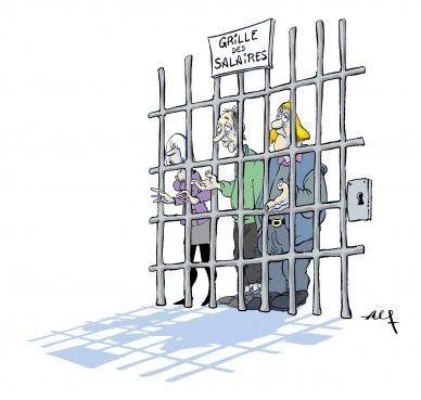La grille des salaires