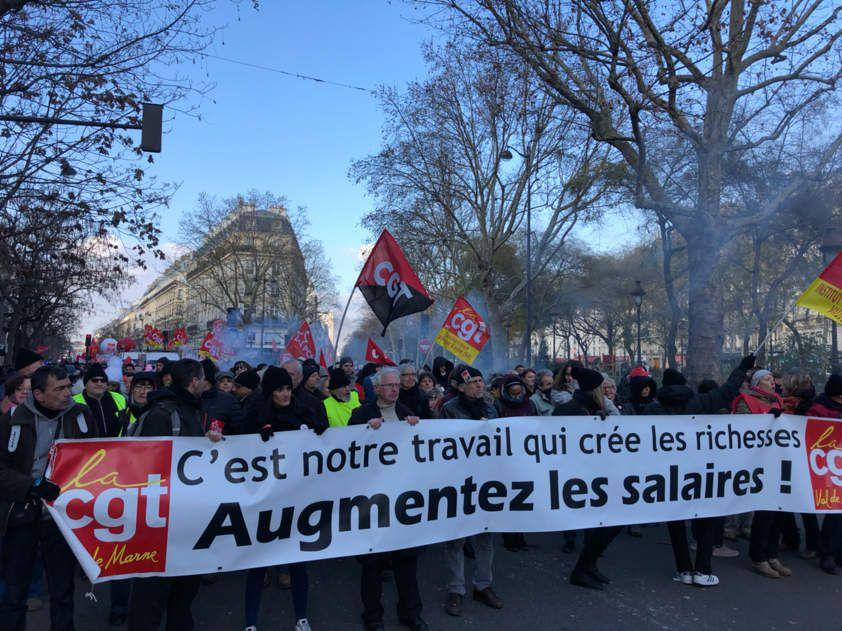 Une belle manifestation sur Paris aujourd'hui !
