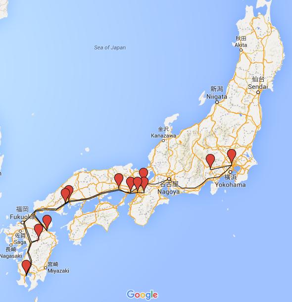 Bilan 3 semaines au Japon