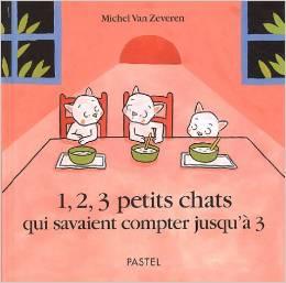 1,2,3 trois petits chats- Album à compter