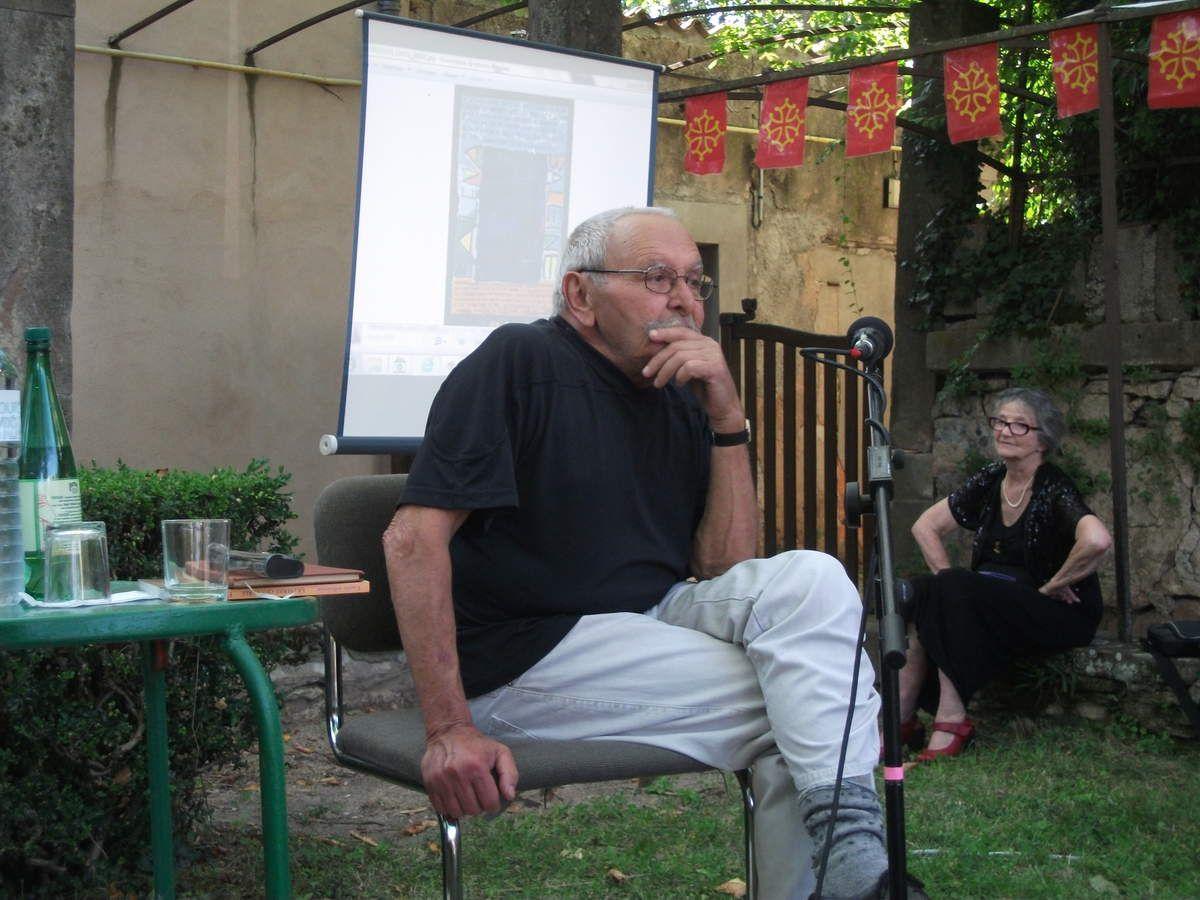 Lecture des souvenirs entomologiques de Fabre par Yves Rouquette et Marie Rouanet - St Affrique 08/13