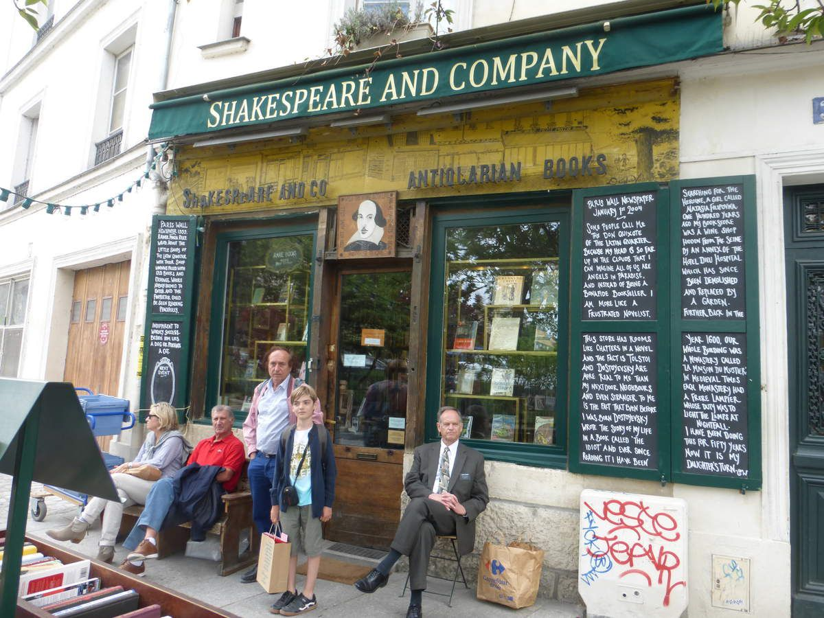 Vivre livre (11) Shakespeare and co