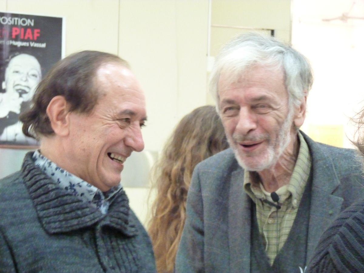 Jacques et Claude Mourthé (Prix Apollinaire- producteur et réalisateur de France culture)