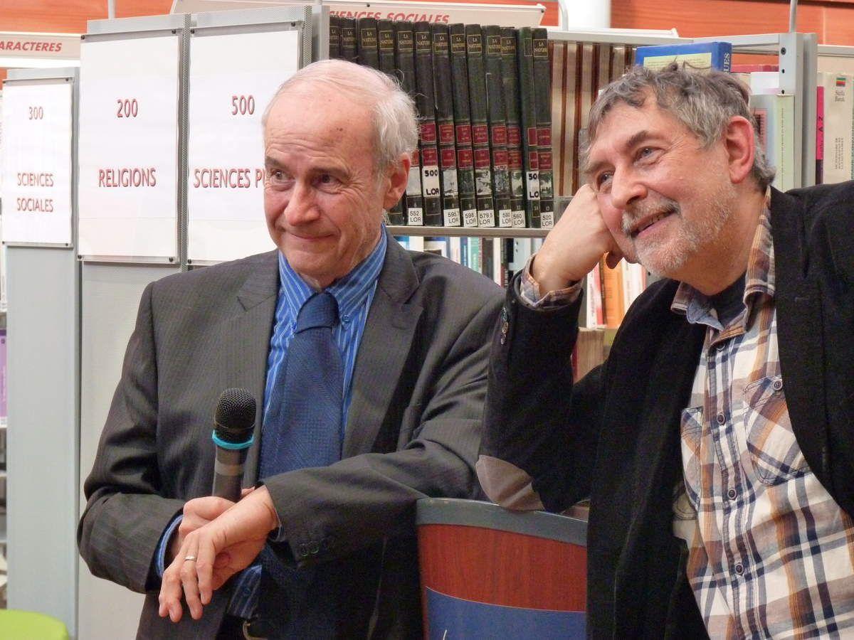 Guy Rouquet et Jean-Pierre Siméon