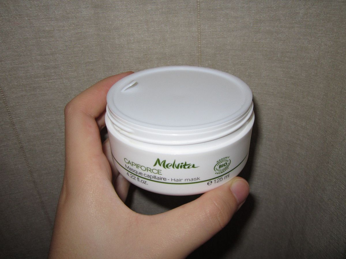 Masque capillaire Capiforce de Melvita