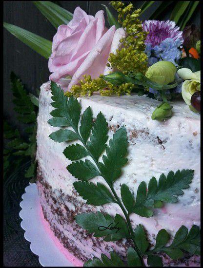 Le Naked layer cake ou la gâteau tout nu ...