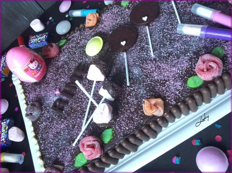 Gâteau pour petite fille sage