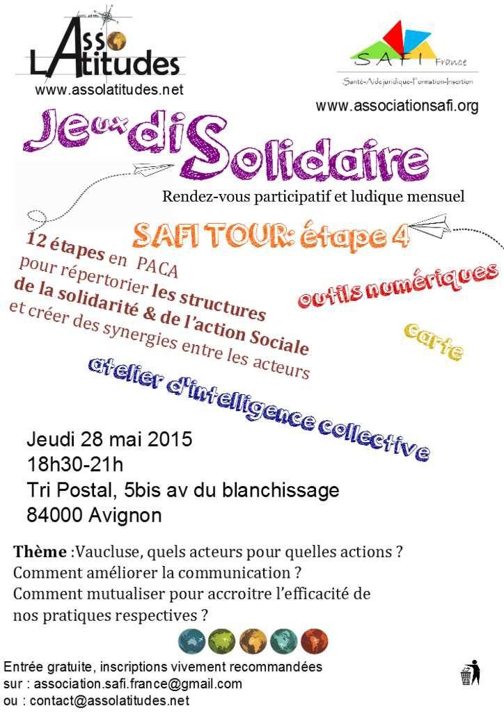 Les Je(ux)dis Solidaires au Tri Postal