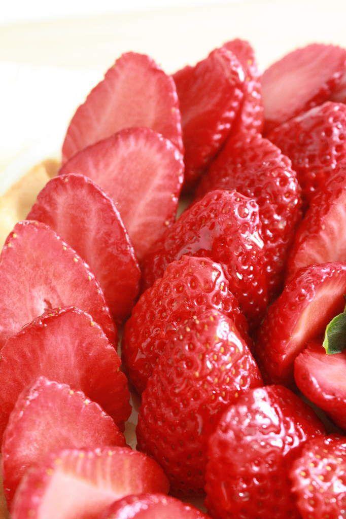 Tarte aux fraises &amp&#x3B; crème pâtissière (2).