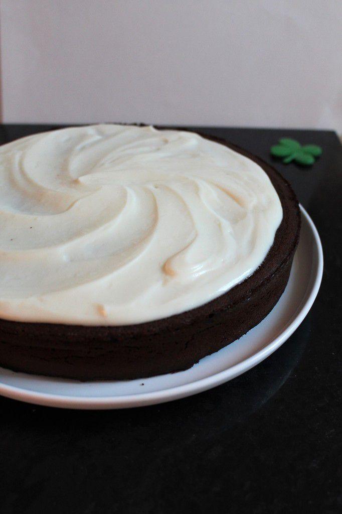 ♣ Gâteau au chocolat &amp&#x3B; à la Guinness pour la Saint-Patrick! ♣