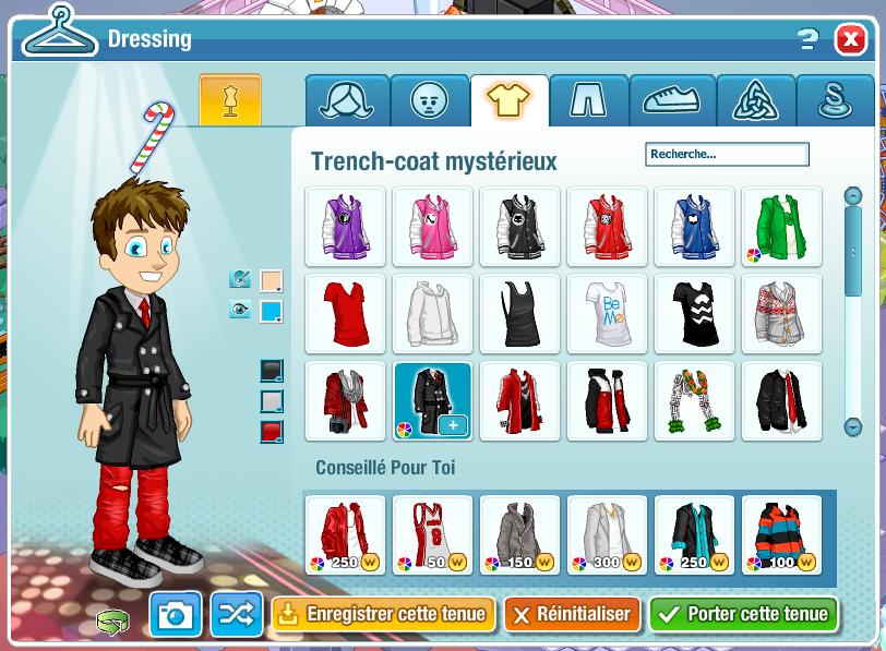 Flash Info : Le Dressing arrive sur Woozworld !