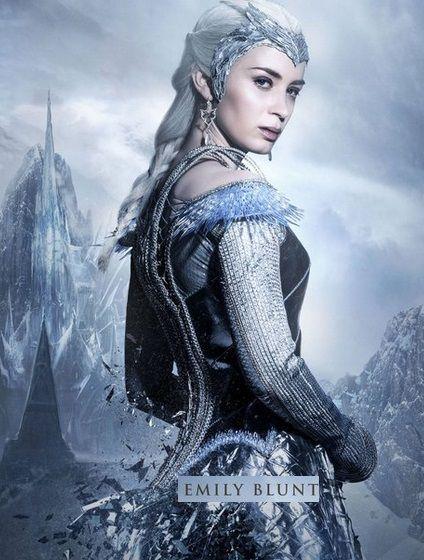 Le chasseur et la reine des glaces acterieur du cinema - Robe reine des glaces ...