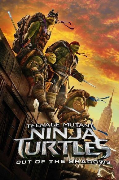 NINJA TURTLES 2 Out of the Shadows
