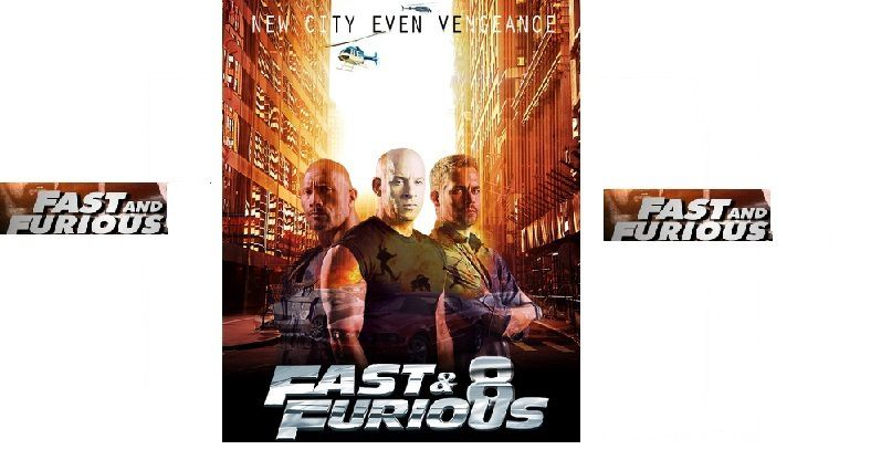 fast furious 8 acterieur du cinema. Black Bedroom Furniture Sets. Home Design Ideas