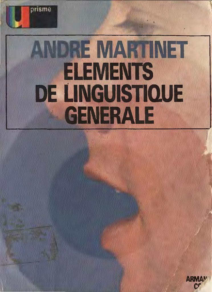 élément de linguistique générale