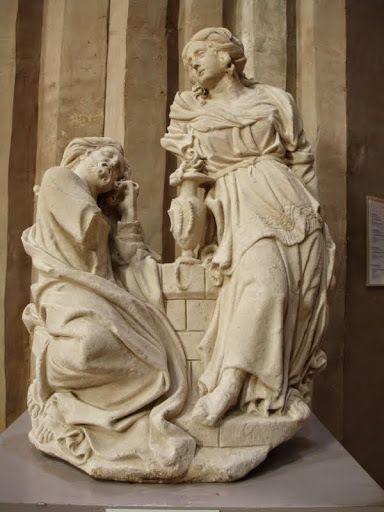 Le Christ et la Samaritaine, Gervais Drouet, 1615. Musée des Augustins, Toulouse.