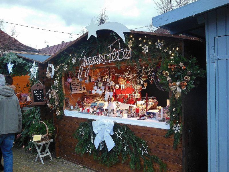 Tout le charme d'un marché de Noël alsacien