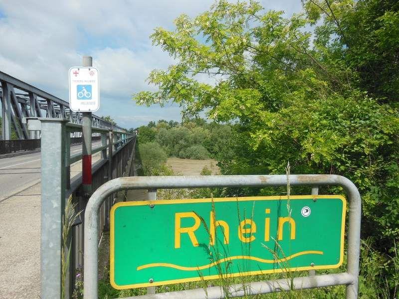 Vieux Brisach (D) et le Rhin