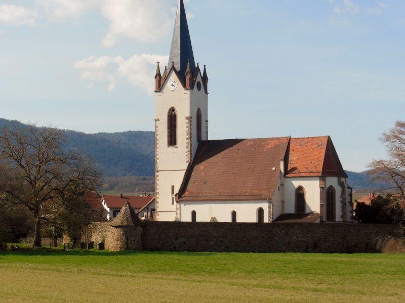 L'eglise fortifiée de Hartmannswiller (68)