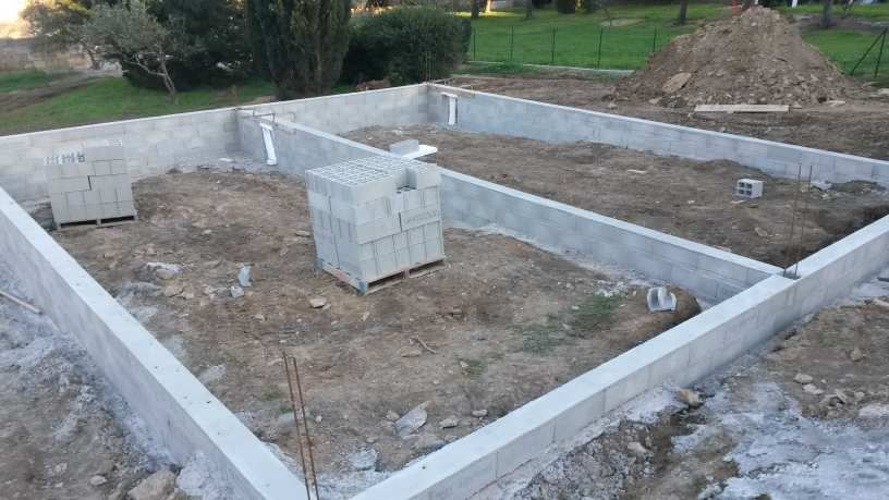 Etape 1- les fondations
